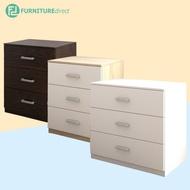 Furniture Direct Chest Drawer MEMPHIS with 3 Layer Drawer Storage - 2.5 ft cloth storage almari ikea baju bedroom