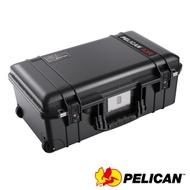 美國 PELICAN 1535TRVL Air 輪座拉桿超輕氣密箱-(黑)