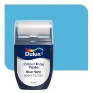 สีขนาดทดลอง Dulux Colour Play™ Tester - Blue Note 86BG 43/321