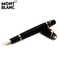 【限時低價出售】現貨當天出 實拍 新款 萬寶龍鋼筆 MontBlanc萬寶龍波西米亞系列黑色樹脂紅寶石墨水筆25100