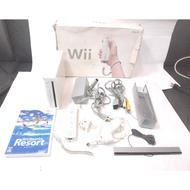 Wii 主機套件+日版渡假勝地遊戲片/有改機,可外接隨身硬碟