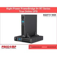 Right Power True Online UPS PowerBridge9⁺ Series 3KVA (PowerBridge9⁺ 3K)