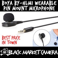 [BMC] BOYA BY-HLM1 Wearable Pin Mount Style Microphone