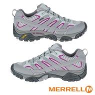 【精選現折$250】MERRELL MOAB 2 GORE-TEX多功能防水登山健行鞋 女鞋 淺灰/紫-ML06082 登山鞋/戶外運動鞋