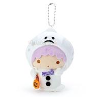 【真愛日本】4901610353615 萬聖節限定絨毛珠鍊吊娃-KI幽靈ED92 雙子星kikilala 吊飾 掛飾 擺飾 娃娃