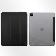 Metal-Slim Apple iPad Pro 12.9 (第5代) 2021 高仿小牛皮三折立架式保護皮套(袋裝)