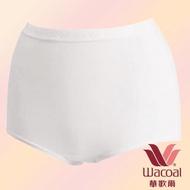 【華歌爾】新伴蒂-S型 高腰 M-3L 機能內褲盒裝2件組(純淨白)