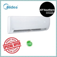 MIDEA  1.0HP, 1.5 HP, 2.0HP, 2.5HP MSAE Non-Inverter Air Conditioner Aircond Wall Mounted (R410)