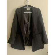 轉賣 DOBOKI黑色長版西裝外套