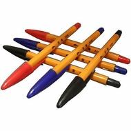 【文具通】RABBIT 玉兔鉛筆 F220 復古 老牌 原子筆 單色12支裝 A1010006