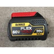熊貓工具 得偉 DEWALT 鋰電池 60V 2.0ah ( 20V - 6.0ah ) DCB606 滑軌式