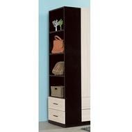 伊凡卡2尺開放式二抽櫃/H&D東稻家居-消費滿3千送點數10%
