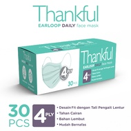 Thankful Face Mask Adult Earloop Daily 30s