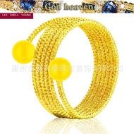 916gold ring simple fashion ladies 916gold ring