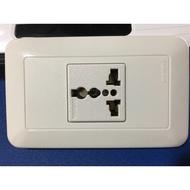 《養元水電》萬寶 Wonpro 萬用插座 接地單插 /~~陸版小米智能插座及網關可直接使用免轉換頭