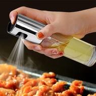 【超取299免運】按壓玻璃噴霧油壺 家用廚房油罐 防漏噴油瓶