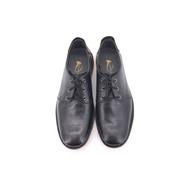 Saramanda x French Shriner รุ่น 167013 MURPHY I รองเท้าคัชชูลำลองผู้ชาย หนังแท้ แบบผูกเชือก สีดำ สีน้ำตาล พื้นยางดิบแท้