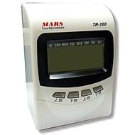 MARS TR-100微電腦打卡鐘 四欄位 電子式打卡鐘