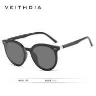 VEITHDIA Brand Vintage Day Night Dual Womens Sunglasses Polarized Mirror Lens Cat Eye Photochromic Sun Glasses For Women 8520