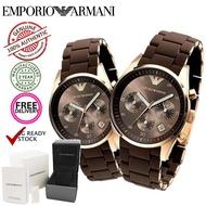 Emporio Armani Sportivo Chronograph Couple Men Women Watch