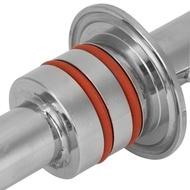 ลูกกลิ้งลำเลียง304เหล็กกล้าไร้สนิม1.5inอุปกรณ์แขนถ่วงล้อที่มีวงแหวนคู่สำหรับถังหมักรูปกรวยส่วนใหญ่