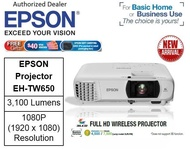 Epson EH-TW650 Wireless Projector ** Free $40 NTUC Voucher + Epson Soft Carrying Case (Pre-Packed In Retail Packaging Box) Till 2nd Mar 2019 ** Epson EH TW650 EHTW650