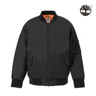 Timberland 女款黑色復古飛行員夾克|B4108