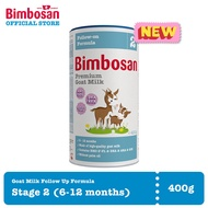 Bimbosan Goat Milk Stage 2 Baby Follow on Milk Formula 400g (6-12 months)