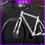 RALEIGH Road Bike 24-speed Variable Speed Mountain Bike Aluminum Alloy Frame Double Disc Brake Bicycle 🔥In Stock🔥