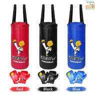 WinnerYou Kids Punch Bag and Gloves Boxing Hanging Punch Bag with Gloves Kick Boxing Bag and Training Gloves Youth Muay Thai Punching Bag Mitts Age 3 to 12 Years Old