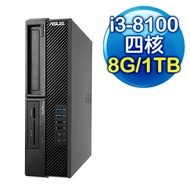 ASUS華碩 M640SA 桌上型電腦 (i3-8100/8G/1TB/燒錄機)