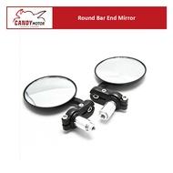 Round Bar End Mirror