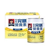 【QUAKER 桂格】完膳營養素原味無糖250ml×8入