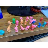 全新-現貨 吸盤公仔 玩具 兒童桌遊排隊扮家家酒 動物 魚 仿全聯總動員吸盤公仔 現貨