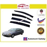 Honda Civic EG SR4 4Door 1991-1995 AG Door Window Visor(Small 7cm Width)