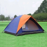 Double Layer Tent Capacity 4 Person 4p Outdoor Camp Camping Outbound Survival Rescue