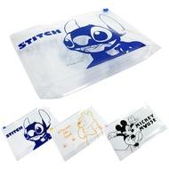 [迪士尼]立體環保夾鏈袋 口罩收納 大容量 三款任選【5ip8】[現貨]米奇米妮/小熊維尼/史迪奇