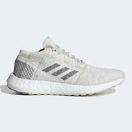 Adidas PUREBOOST GO 女鞋 慢跑 休閒 襪套 輕量 避震 透氣 灰 白【運動世界】 B75821