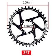 RACEWORK GXP Bike crankset 170mm 32T\34T\36T\38T Crank ChainWheele MTB Bicycle Chain Ring ChainRing