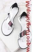 2014 summer zara girls with flat thong sandals and slippers Korean fashion shoes flat sandals female