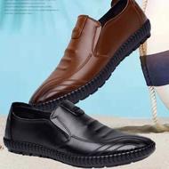 รองเท้าหนังผู้ชายเครื่องแบบเครื่องแบบรองเท้าเจ้าหน้าที่ทหาร Fashion leather shoes รองเท้าหนังชาย รองเท้าคัชชู ผช รองเท้าหนัง รองเท้าผู้ชายหนัง
