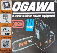 """ogawa pro 65cc 24"""" inch wood tree long trimmer side chain saw engine petrol gasoline motor cut off drill drilling grinder cutter cut cutting handle holding holder machine tool control angle garden branch brush press hand power speed portable high roller"""