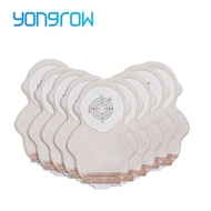 Yongrow 10 PCS One-piece System Children Ostomy Bag Drainable Colostomy Bag Pouch Ostomy Stoma Cut Size Beige Cover Urine bag
