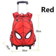Spider Manกระเป๋าเดินทางเด็กกระเป๋าเดินทางเด็กกระเป๋าสะพายล้อลากโรงเรียนกระเป๋า