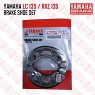 100% Original Yamaha LC135 LC 135 135LC RX-Z 135 RXZ135 RXZ Brake Shoe Set Kit Racing Motorcycle Motosikal Genuine Part