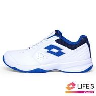 【新春回饋↘滿$1300折$100】* LOTTO樂得-義大利第一品牌 男款SPACE 600 網球鞋 [2236] 白藍【巷子屋】