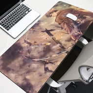 gamer play mats BIG SIZE Attack On Titan Rubber Game Mouse Pad lord of the mouse pad 3mm mouse pad 2020 hot sales