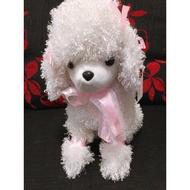 (全新)白色貴賓狗玩偶