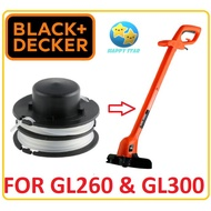 REFILL LINE FOR GL300 / GL260 BLACK AND DECKER GRASS TRIMMER MESIN SPOOL LINE NYLON STRING RS300 SPARE PART ACCESSORIES
