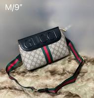 กระเป๋ากุชชี่ คาดอก คาดเอว หนังแท้100% Gucci belt bag eden กระเป๋าขนาด 9 นิ้ว กระเป๋าปั๊มทุกจุด พร้อมส่ง!!!